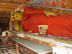 Anuradhapura - bouddha temple Isurumuhiya