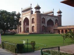 Agra - portail d`entrée