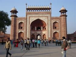 Agra - portail d`entrée 2