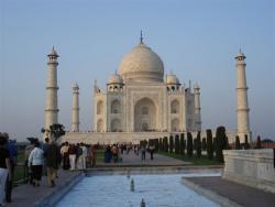 Agra - Taj Mahal fin d`après midi