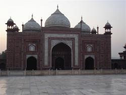 Agra - Taj Mahal mosquée