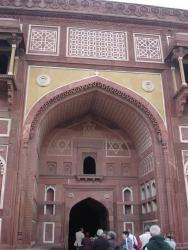 Fort rouge - proche Palais de Jahangir