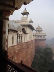 Fort rouge - au loin Musammam Burg