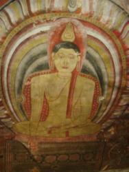 Dambulla - peintures plafond