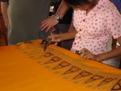 Matale - atelier de batik 2