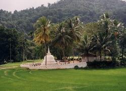 Matale - petit temple en pleine campagne