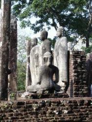 Medirigiriya - statues