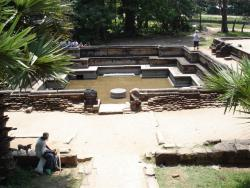 Polonnaruwa - bains royaux