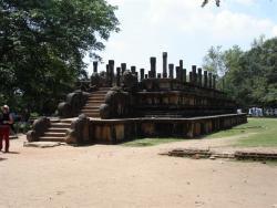 Polonnaruwa - Salle du Conseil