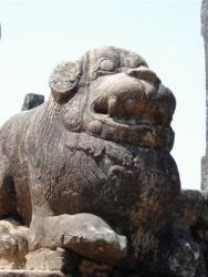 Polonnaruwa - sculpture escalier Salle du Conseil