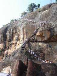 Sirigiya - accès au sommet