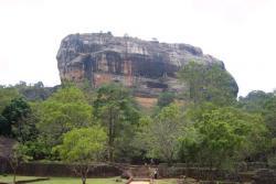 Sigirya - rocher du lion